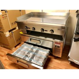 48 Quot Chef Base With 48 Quot Chrome Griddle Package