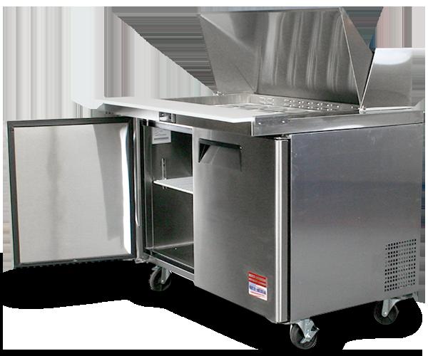 Sandwich Prep Table MA RI CT VT ME - Cold prep table for sale
